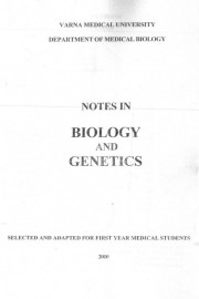 Notes in Biology and Genetics